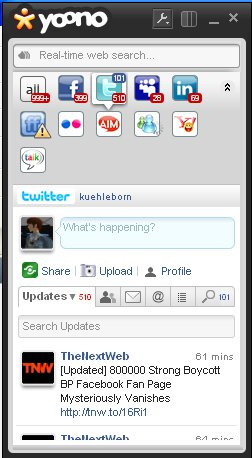 Yoono as a Twitter Client » Kuehleborn's World